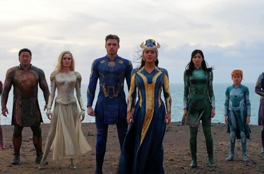 Marvel divulga pôster e teaser inédito de Eternos
