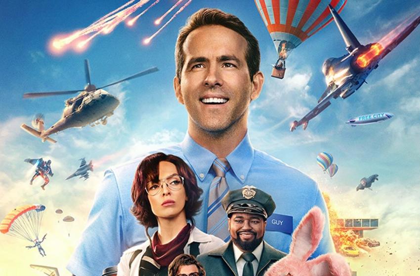 Free Guy: Assumindo o Controle, com Ryan Reynolds, ganha trailer e pôster inéditos