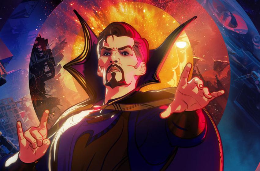 Doutor Estranho Supremo é destaque em pôster inédito de What If…?