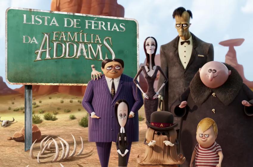 A Família Addams 2: Pé na Estrada – Teaser