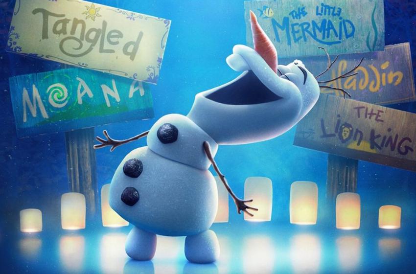 Série de curtas com Olaf recriando grandes clássicos da Disney ganha pôster e trailer oficiais